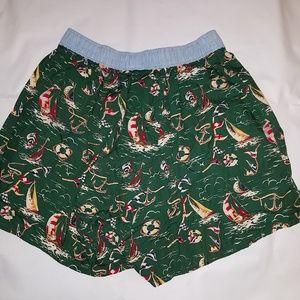 Tommy Hilfiger Underwear & Socks - VINTAGE Tommy Hilfiger Boxer Shorts MD Sailboats